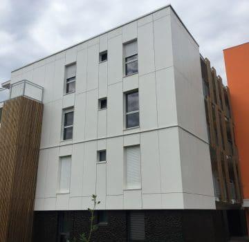 bardage façade moderne